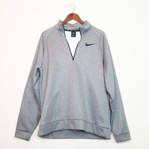 Nike Grey Pullover DriFit Long Sleeve Shirt Size L